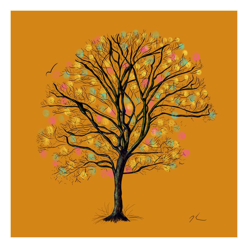 """""""Fall Tree"""" Jan 2018"""
