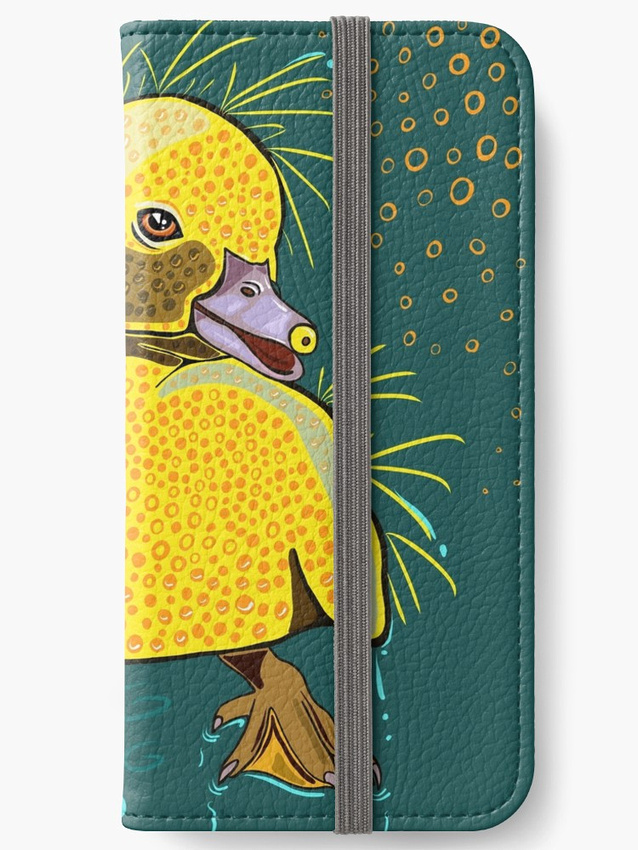 Duckling_March_4_2018 (C) Karen MacDuff Squires NO SIG Phone CASE REDBUBBLE