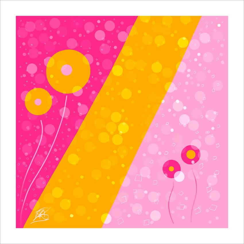 Bubble Gum June 2nd 2018 (C)Karen MacDuff Squires Sig Frame Stroke